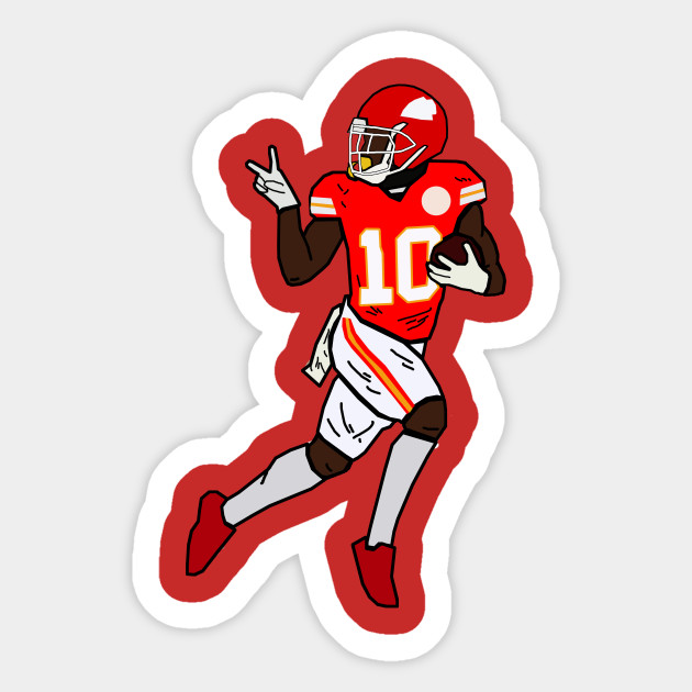 Tyreek Hill Funny Touchdown Turn Around Stare Celebration - Kansas City Chiefs