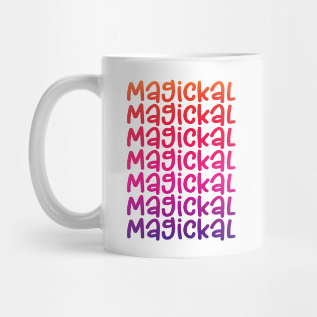 Magickal Rainbow Cheeky Witch