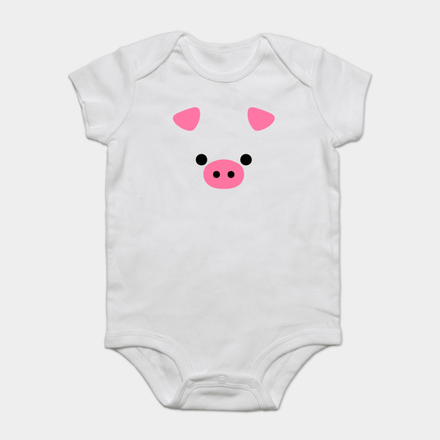 Cute Pig Face Funny Animal Lover Halloween Costume - Pig Face ... aea969503329