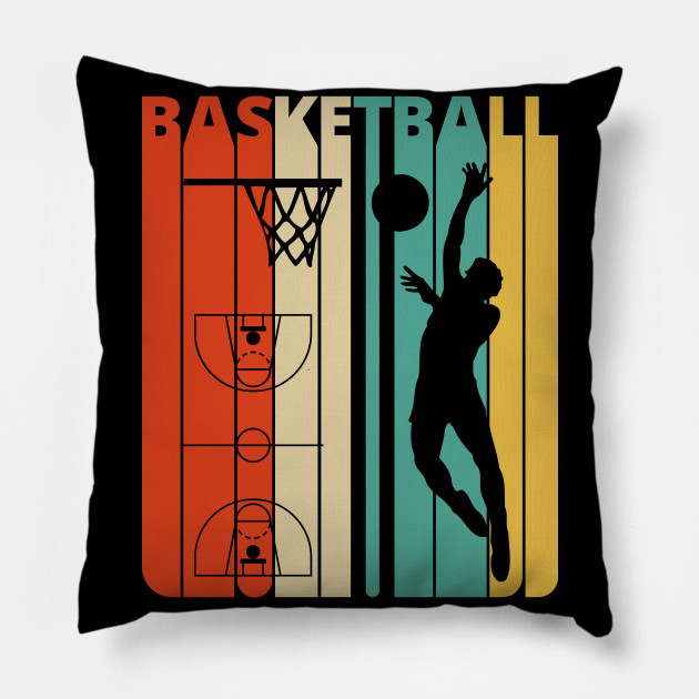 Basketball Silhouette, retro design.