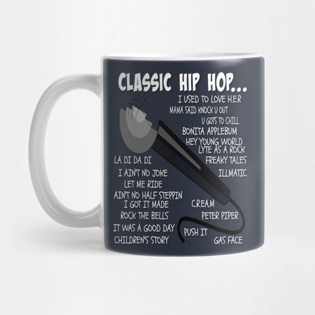Classic Hip Hop Old School Rap T-Shirt by vonwestees
