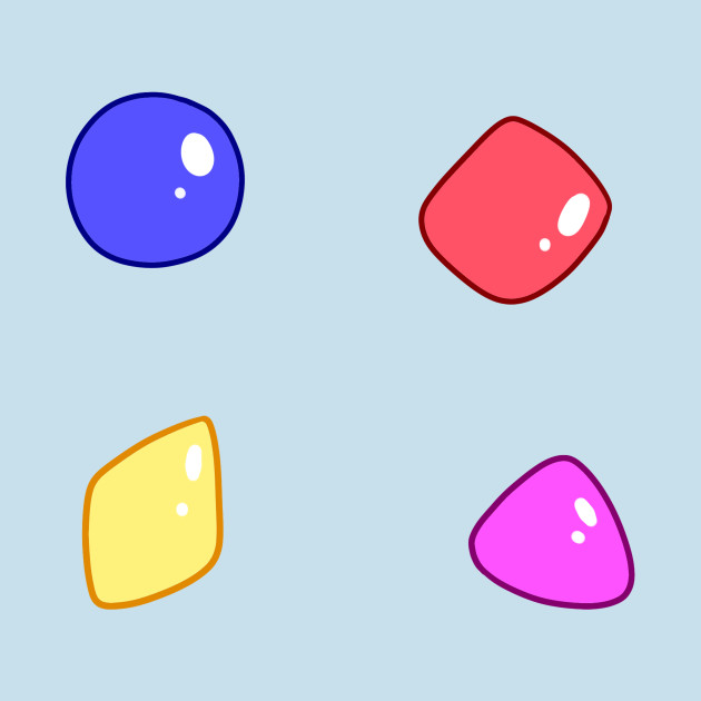 Candy Gum Shapes