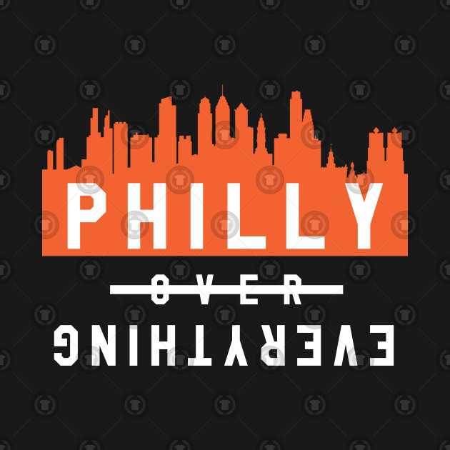 Philly over Everything - Black/Orange