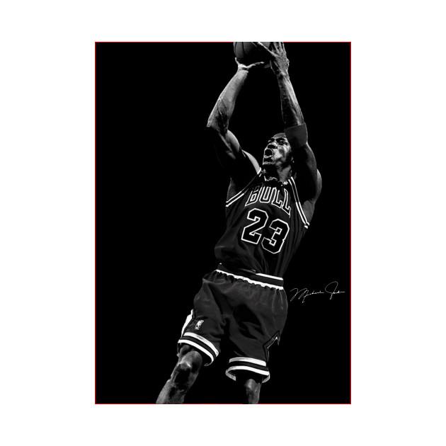 bcc861e7 Michael Jordan The Shot - Michael Jordan - Kids T-Shirt | TeePublic