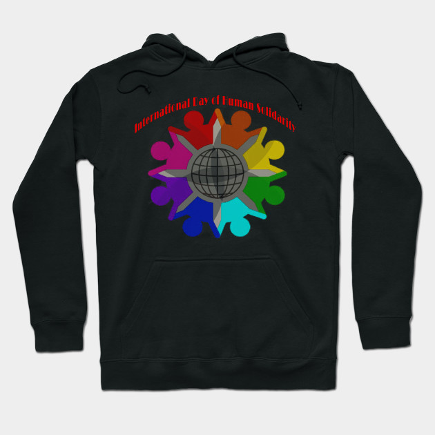 International Day of Human Solidarity Hoodie
