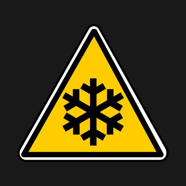 Ice Warning Sign