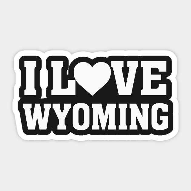 I Heart Love Wyoming – State Pride