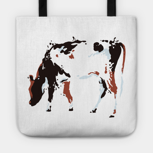 Vector Illustration Chocolate Dairy  Cow