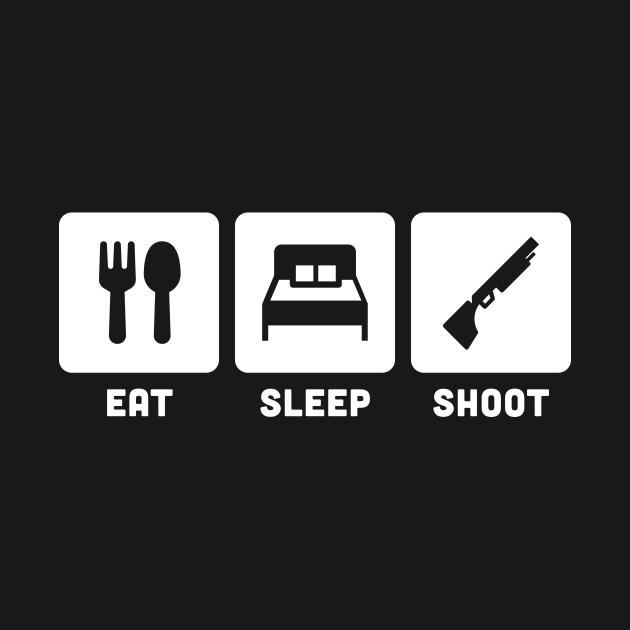 Eat, Sleep, Shoot   Shotgun & Skeet Shooting