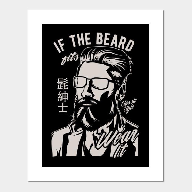 Hipster Beard Vintage