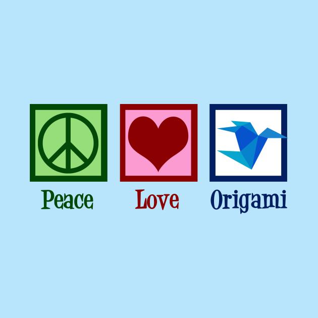 Peace Love Origami