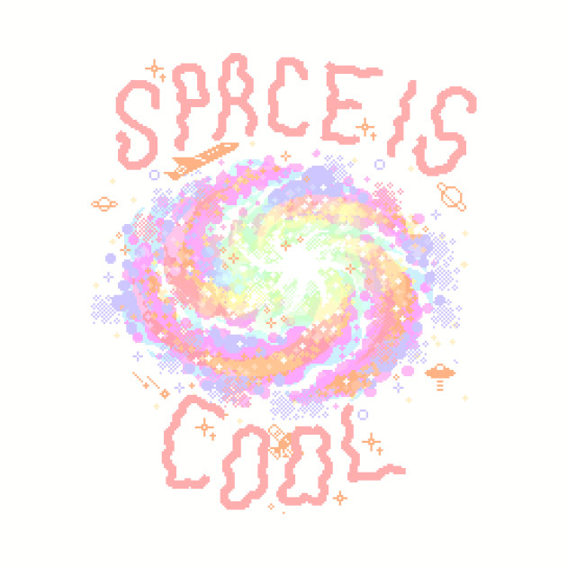 Space is cool (peach)