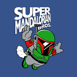 Super Mandalorian Bros! t-shirts