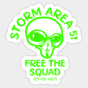 Free The Squad Stickers | TeePublic