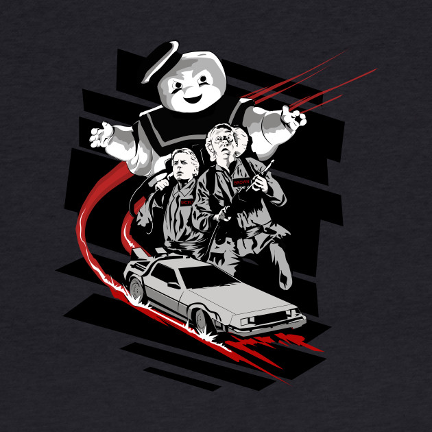 Back to the future Ghostbusters mashUp