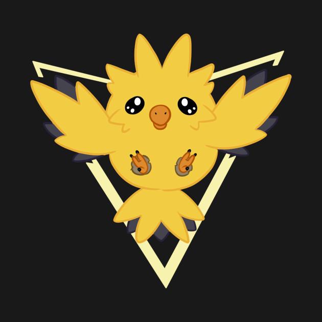 pokemon go team instinct chibi zapdos team instinct phone case