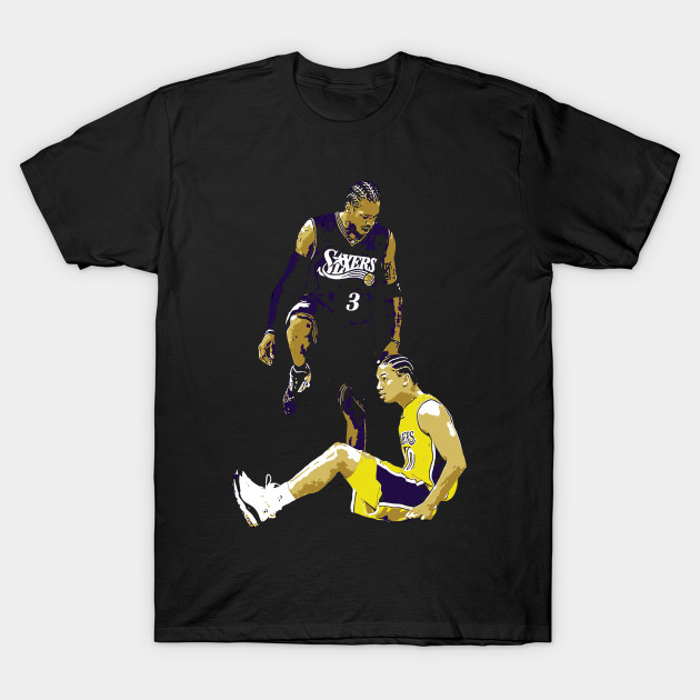 ccbe28c3f The Stepover - Allen Iverson - T-Shirt