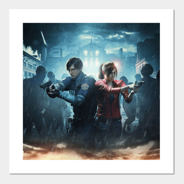 Resident Evil 2 T Shirt Re2 Posters And Art Prints Teepublic