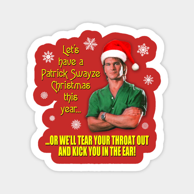 Patrick Swayze Christmas by mstees