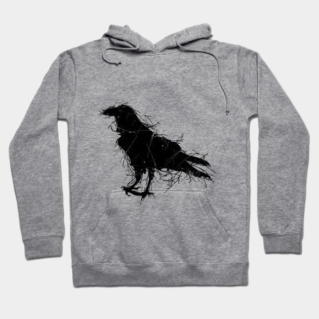 65d8e649 Animal t-shirts raven crow t-shirt
