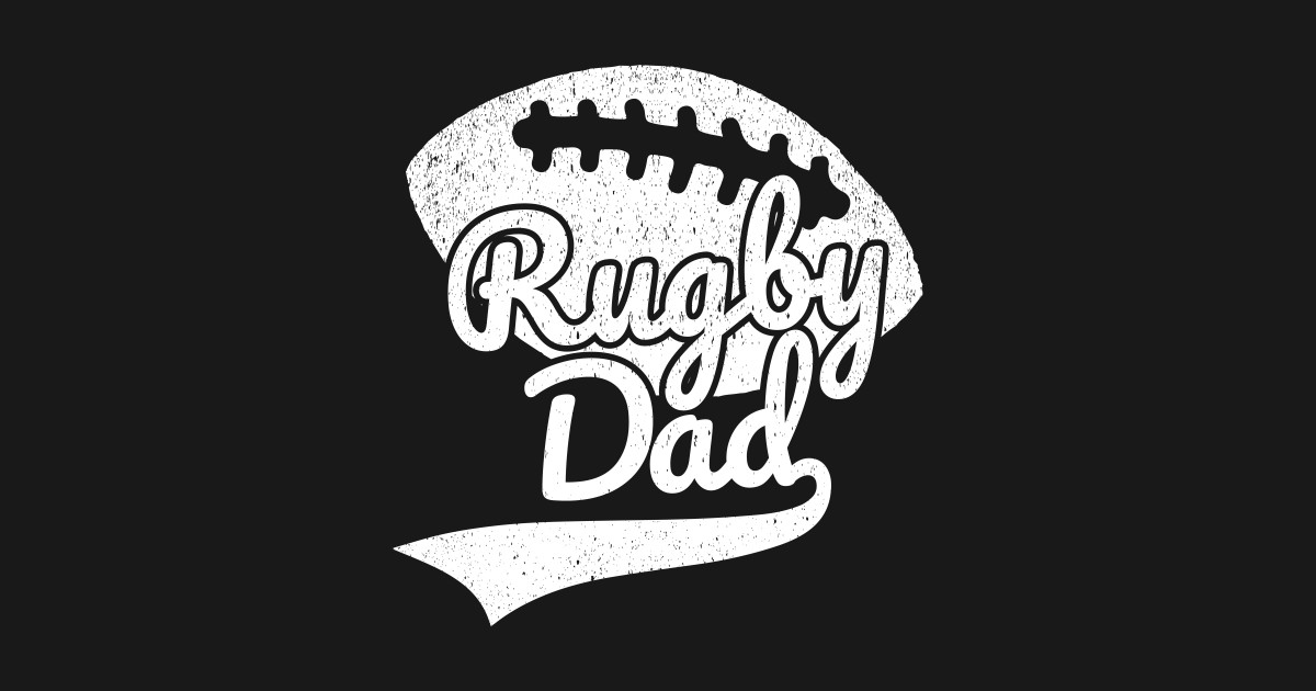 Rugby Dad Fathers Day Sports Rugby Fan Mens T-Shirt