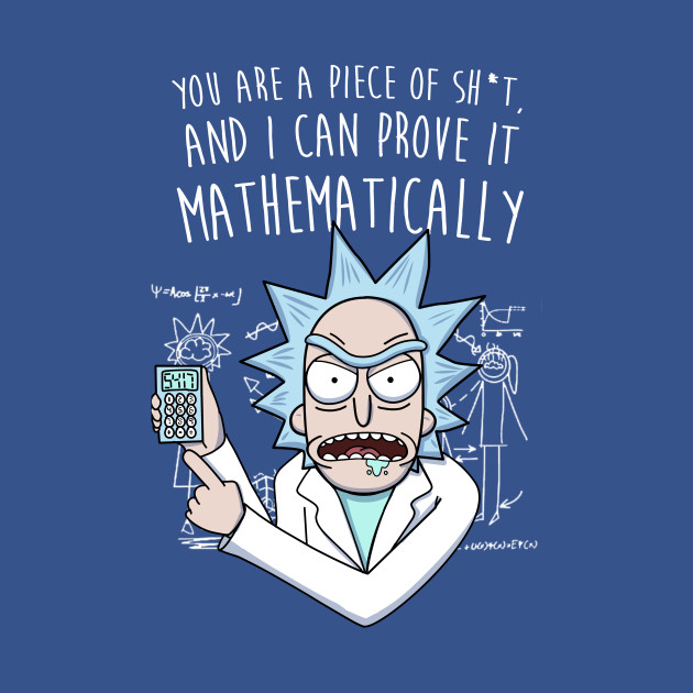Rick Mathematically T-Shirt