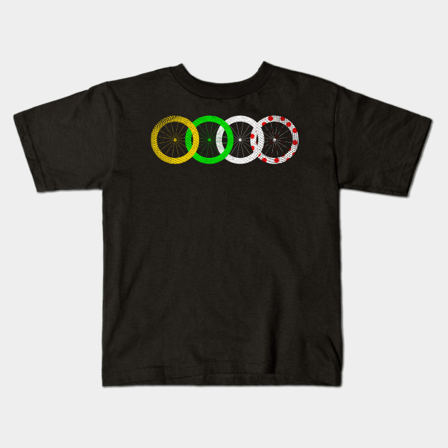 fe81b23cc6edc Tour France Jerseys T-Shirts French Cycling Race Lovers Tee T-Shirt Kids  T-Shirt