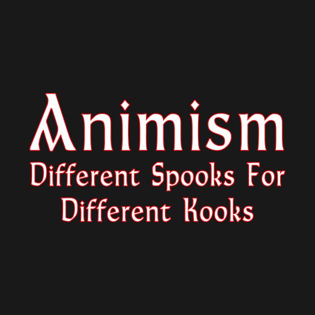 Animism dark shirts