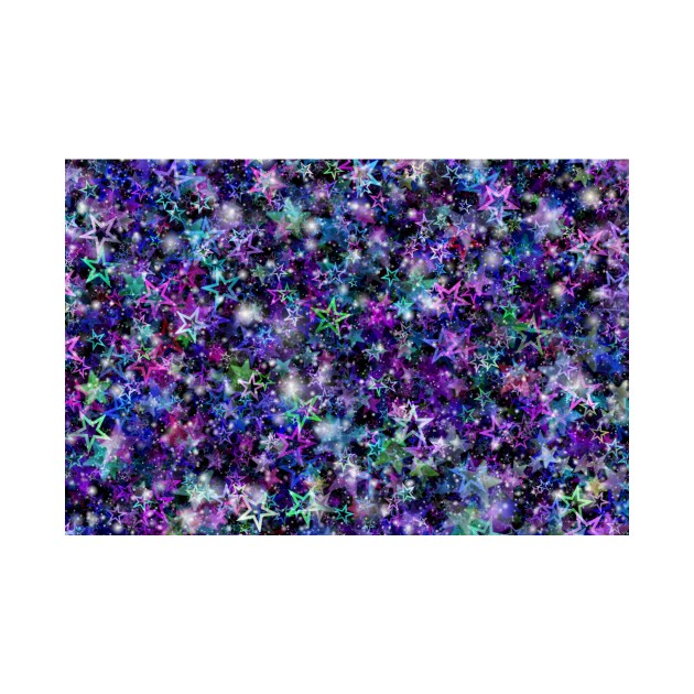 Starry Background   Pattern, Stars, Colorful, Magic