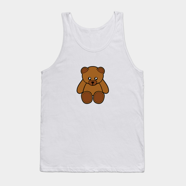 Teddy Bear Teddy Tank Top Teepublic