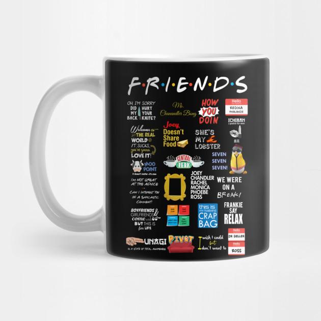 Friends Quotes   Friends   Mug   TeePublic