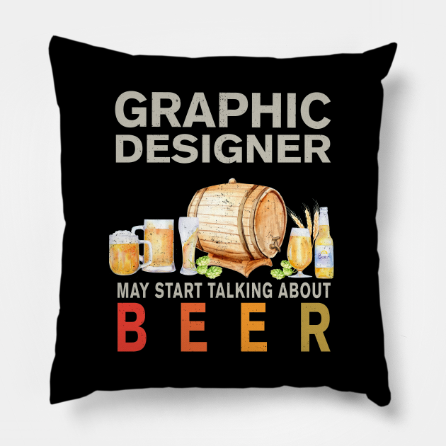 Graphic Designer Beer Lover Shirt, Mask, Stickers & Gifts