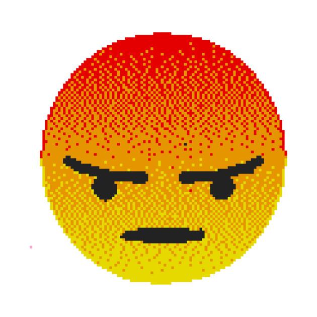 angry emoji emoji tapestry teepublic