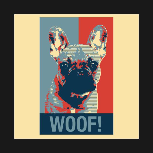 french bulldog obama hope poster style french bulldog kids t