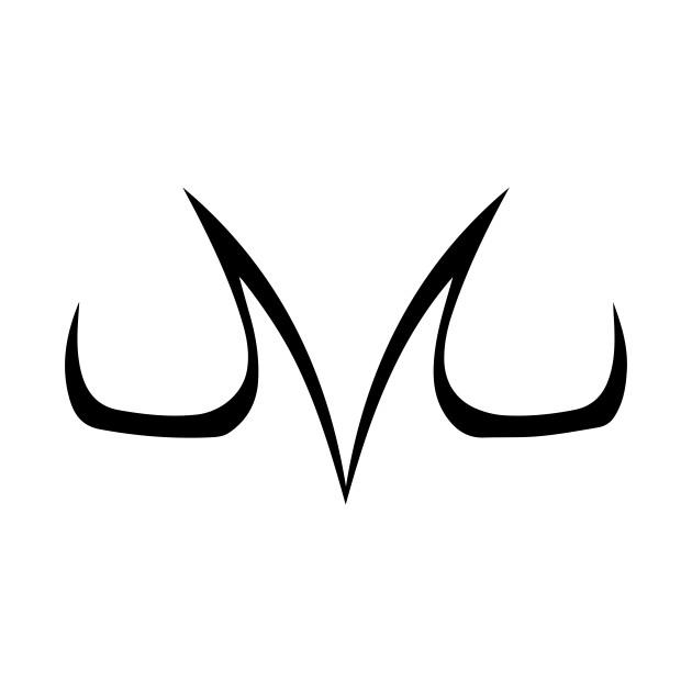 Logo Majin Vegeta Dbz Majin Pillow Teepublic