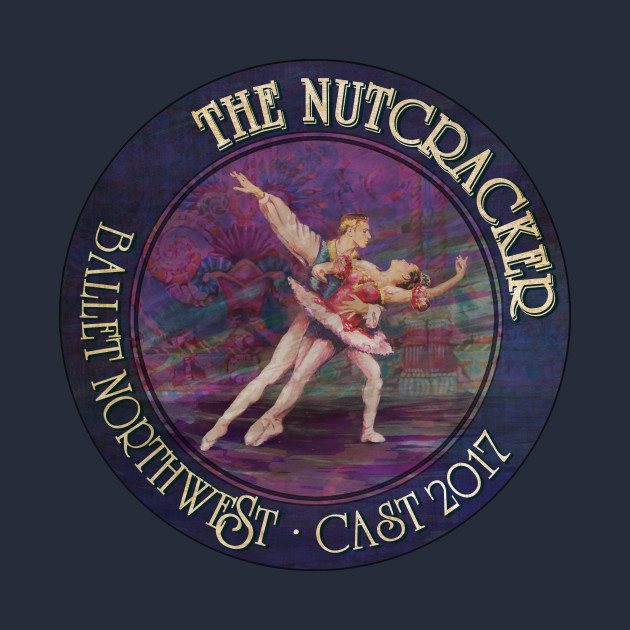 Nutcracker 2017 Cast Shirt Ballet Northwest