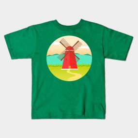 windmill kids t shirts teepublic