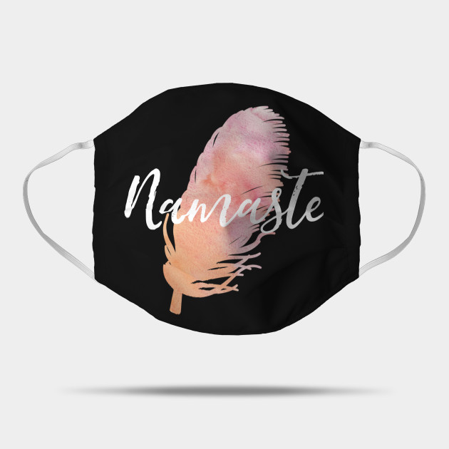 Namaste Watercolor Feather