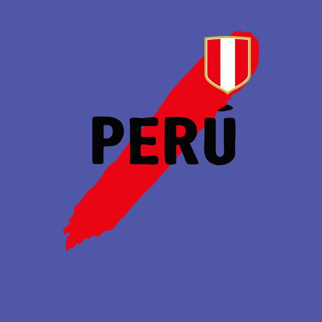 d9f79401d41 Peru Soccer Jersey 2018 Camisetas de Futbol Peruvian - Peru - T-Shirt |  TeePublic