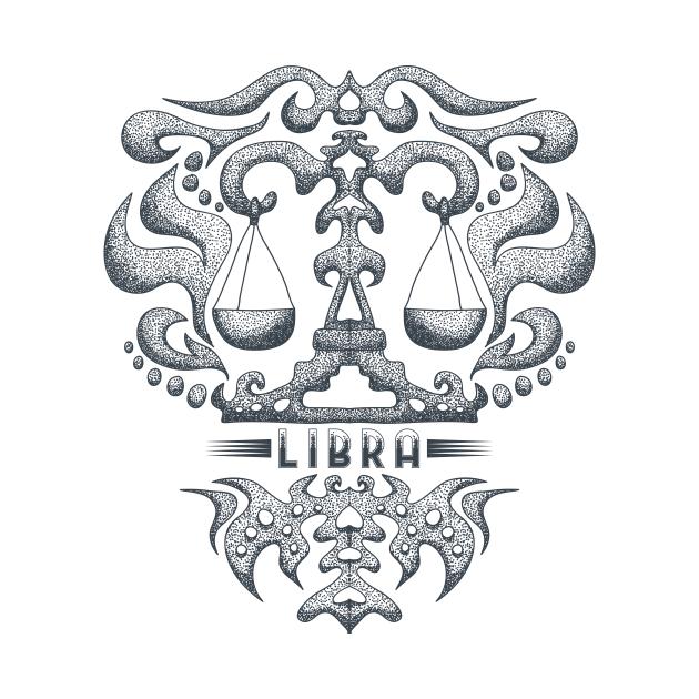 Libra Zodiac Design Astrology