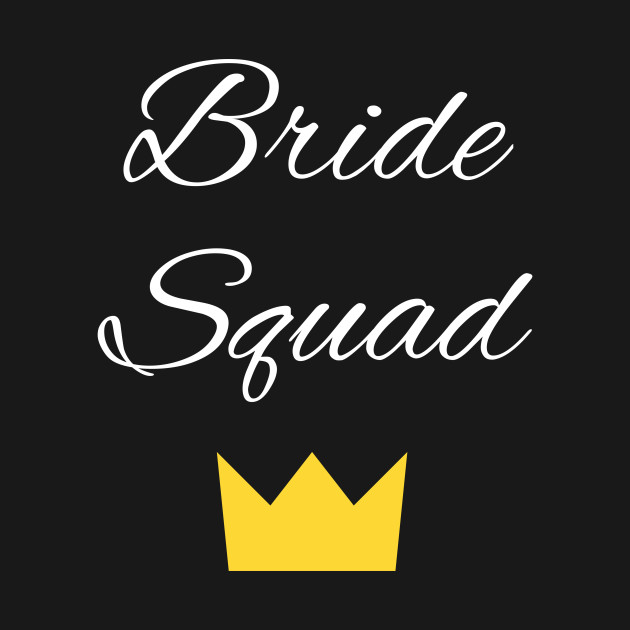 Womens Bride Squad Bachelorette Party