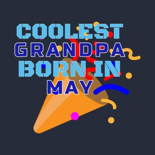 Main Tag Birthday Gift For Grandpa T Shirt