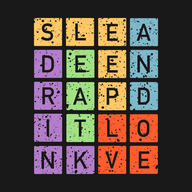 Eat Drink Sleep And Love T-Shirt