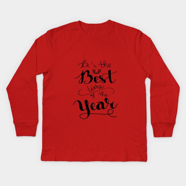 17bbd535d09 Christmas Slogan - Christmas Gifts - Kids Long Sleeve T-Shirt ...