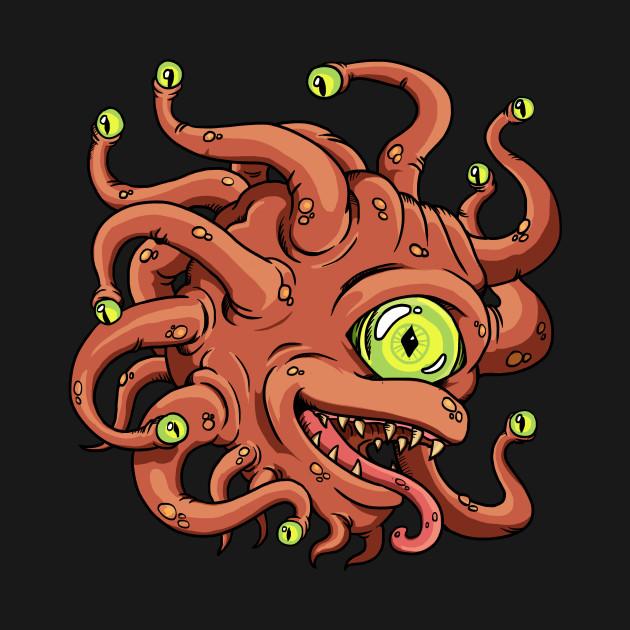 Comic DnD Beholder Monster