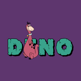 Dino from The Flintstones t-shirts