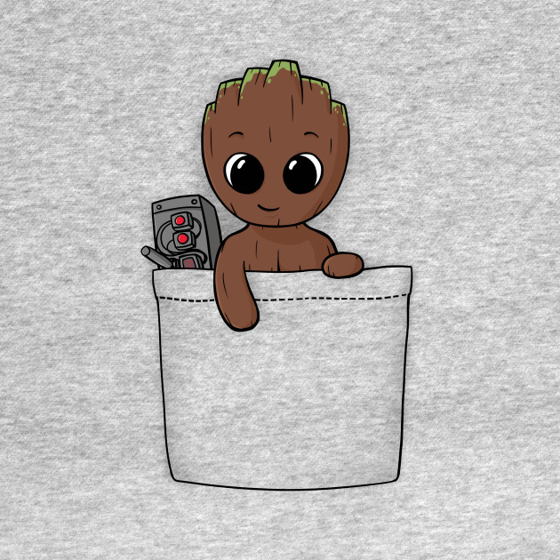 Pocket Baby Groot