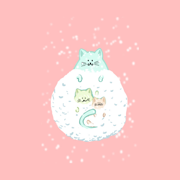 Cats snowball holiday gifts