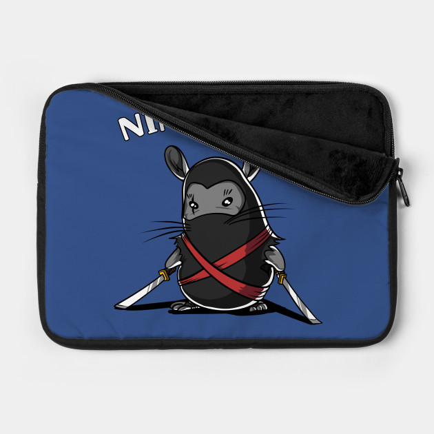 Ninchilla Funny Chinchilla Ninja Cute Pet Samurai