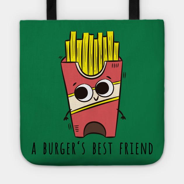Fries, A Burger's Best Friend
